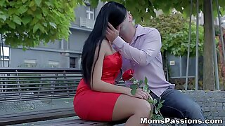 Moms Passions - Passionate love with a mommy