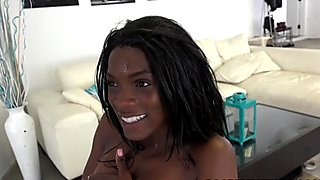 Ana Foxxx Having A Threesome With White Guys