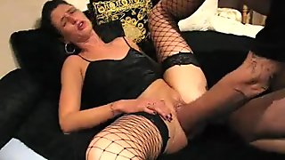 Extreme amateur brutally fist fucked in her pussy