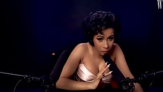 handsome Cardi B explores ASMR - super hot