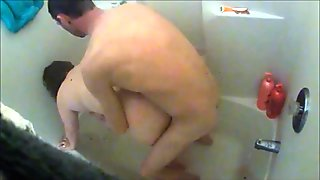 unaware wife krissi hidden shower sex compilation 720p