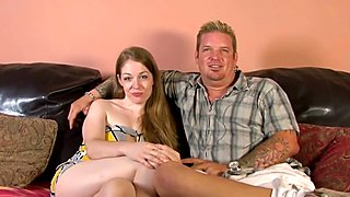 It is her birthday and that is why her husband gives her a new cock