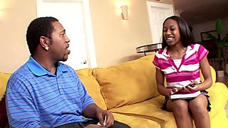 RealBlackExposed Sweet black teen meets