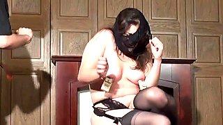 Amateur slave Jannas kinky fetish and bizarre
