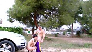Real ho sucks in car park
