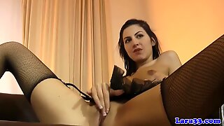 Stockings Brit In Ffm Cockriding With Ass