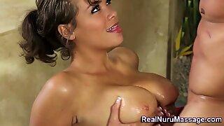 Nuru babe gets fucked
