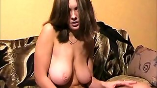 Anna Shtager caresses her pussy with her fingers
