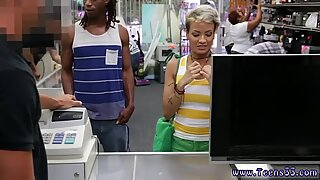 Granny girl and hot big boobs Fucking Your Girl In My PawnShop