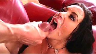Facial Cumshot Compilation With Dirty Talk Dubbed Over