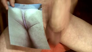 Tribute for brazilwife - cumshot on a hot ass