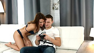 Teeny Lovers - Photo session with lovemaking