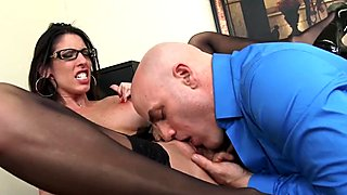 Slutty Secretary Fucks Her Boss To Keep Her Job