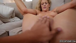 Step mom night and taboo dick Cherie Deville in Impregnated By My Stepboss s son
