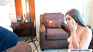 Teenage amateur earns a quick 2000 dollars at this casting