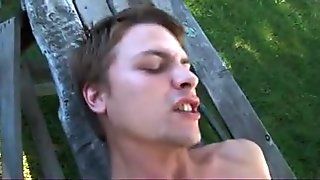 Twinks Fantasy of being Fucked in the Park.