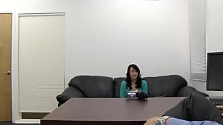 Cheating GF: 1st Time Anal on Casting Couch