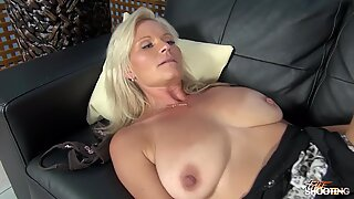 FakeShooting - Mom with Big natural tits wrecked firm on faux audition