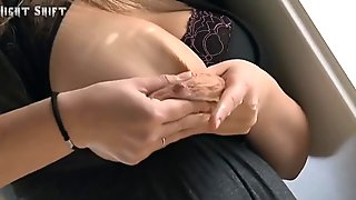 HUGE TITS SQUIRTING ALL OVER THE PLACE!