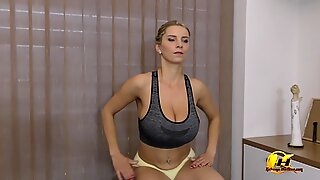 Stay at Home and Stay Fit with Katerina Hartlova Exercise Full on ModelPH