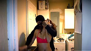 Young teen couple bathroom Here she is clad in her sexiest r