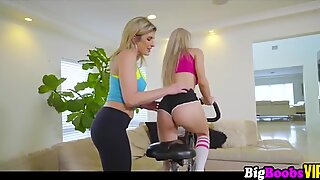 Workout Freak - Cory Chase and Molly Mae - BigBoobsVip