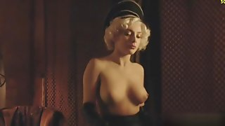 Elena Satine Nude Boobs In Magic City TV Series
