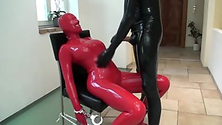 red and black latex