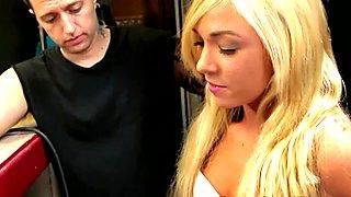Katerine Kay sucks at gloryhole