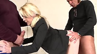 Blonde Milf Inspector