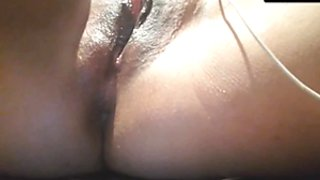 My DP solo and my squirting pussy
