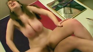 Tessa - Curvy Brunnette being Rammed