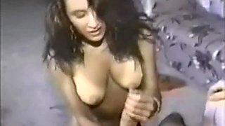Huge shroomed Monstercock horny Handjob
