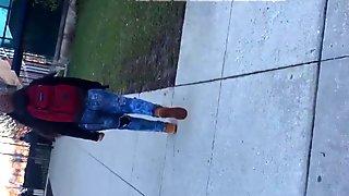 Black Girl Walking