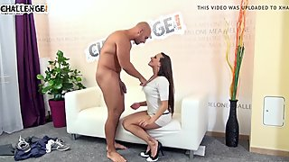 Melonechallenge - Neeo push his monster cock to Mea Melone