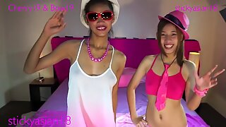 Star, Dee, & Cherry get love sucking cock and having fun. All models 18 ye
