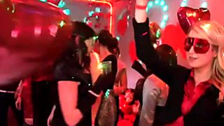 Masquerade turns into a super hot swinger party with spoiled buxom sluts