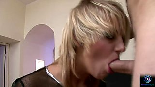 Curvy blonde Natasha assfucked and gaped