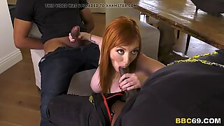 Busty Redhead MILF Lauren Phillips Wants Anal Sex And DP