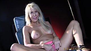 Dick In Blonde Mom's Hands - Erica Lauren