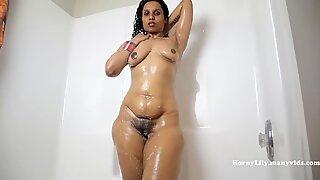 Indian Aunty Riding Fat Dildo