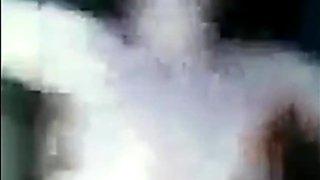 Chechen Girl's first shameful car sex video