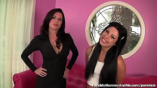 mummy watches daughter-in-law Get Fucked and Joins In