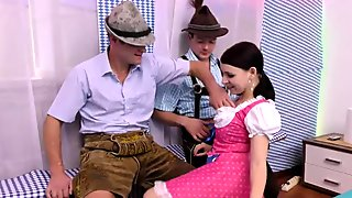 german lederhosen groupsex orgy
