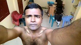 mayanmandev - desi indian male selfie video 100