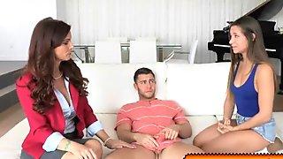 Syren Demer enjoyed a threesome fucking with Seth