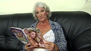 Naughty dollar grandmother pornography throwing