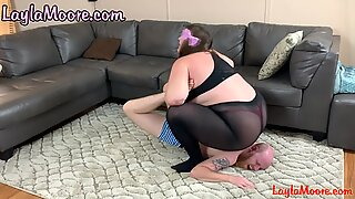 ultra-kinky bum Licking and Limp Dick Sucking Boston Crab practice! LaylaMoore