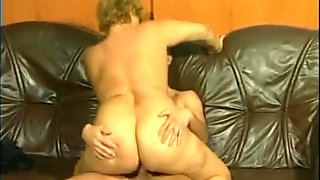 Grandma Gets Plowed By A Big-Cock