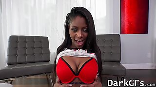 Amazing ebony chick Lexi Rose getting her pussy pounded hard - Nikki Bloh